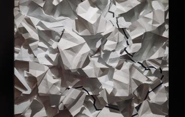 Tabula Fracta. Платон Инфанте, жк-панель, бумага
