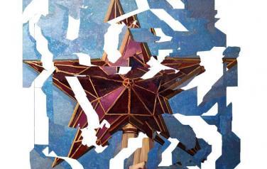 Владимир Потапов. Пентакль, 205х180 см., плексиглас, масло, 2011